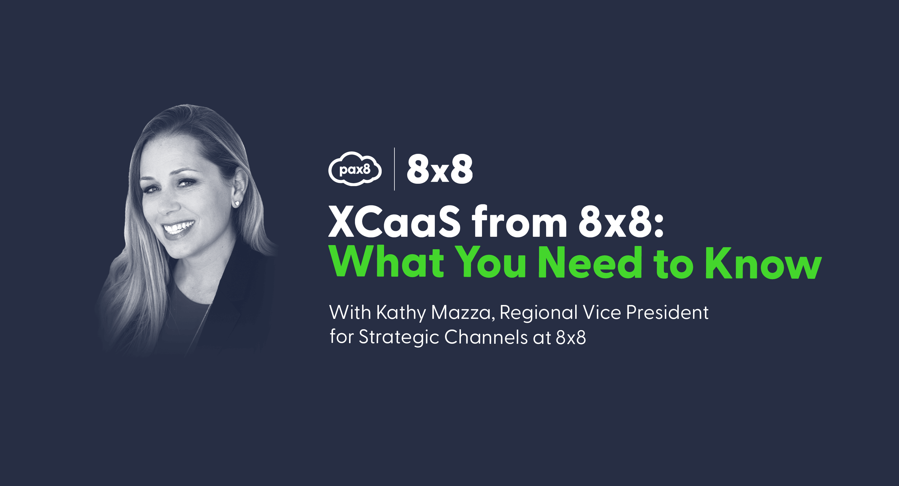 XCaaS from 8x8 - Pax8 Blog